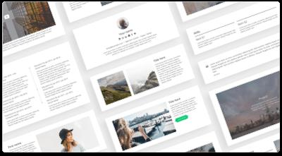 CakeResume - Free Resume/CV Builder & Templates