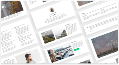 CakeResume - Free Resume/CV Builder & Templates